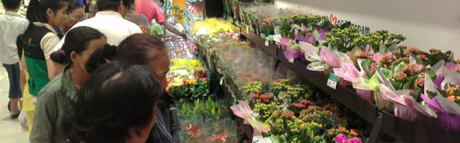 Dalat Hasfarm opened new flowers booth at AEON MALL