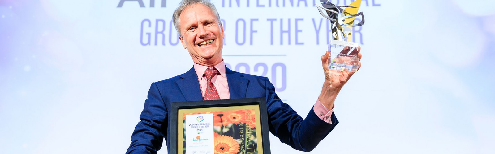 HASFARM - WINNER OF THE AIPH INTERNATIONAL GROWER OF THE YEAR AWARD 2020