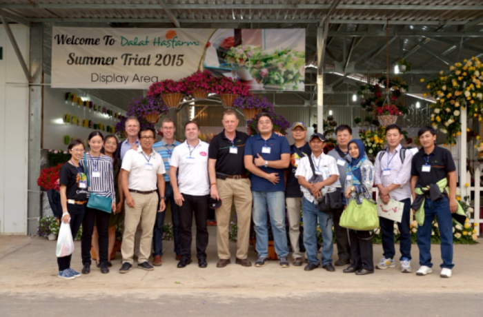 Customers from all over the world joined Dalat Hasfarm for Summer Trial 2015