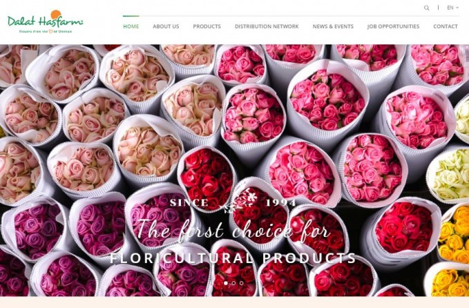 Dalat Hasfarm launches its new website with amazing features