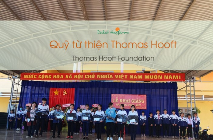 Thomas Hooft Foundation supports poor families & students