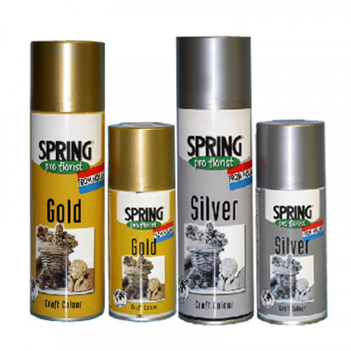 Spring Gold & Silver Spray
